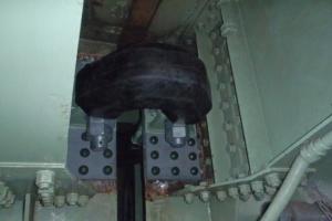 6ブロック耐震補強工事中