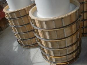 4ブロック 鋼管集成橋脚根巻きコンクリート打設