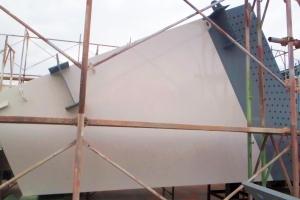 梁拡幅部材 塗装検査