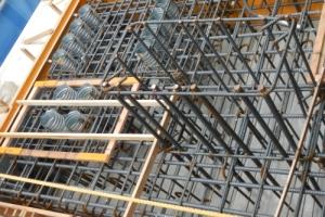 4ブロック梁拡幅コンクリート打設