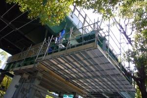 足場設置(3)