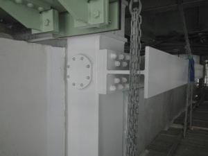 7ブロック耐震補強工事中