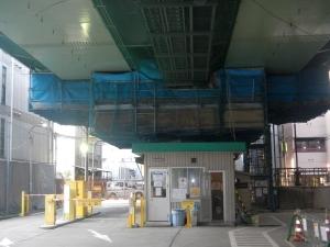 8ブロック 吊足場設置