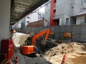 9ブロック地下消防貯留管迂回工事