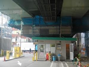 7ブロック 吊足場設置