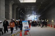 トンネル建設現場ツアー