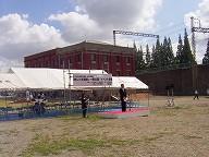 赤レンガ建築 式典