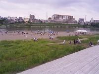 水辺の楽校 川辺全景