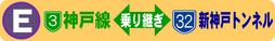 Fルート:3号神戸線←→7号北神戸線