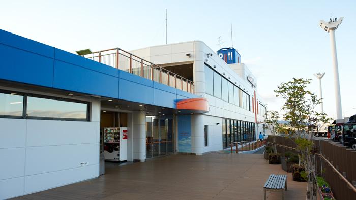 写真:中島パーキングエリア 5号湾岸線(神戸方面行)