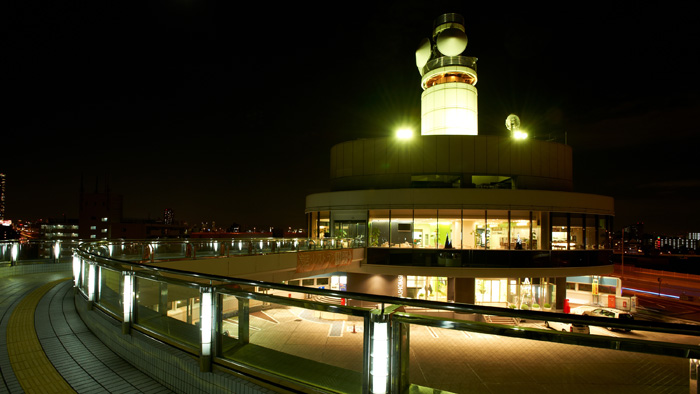 写真:朝潮橋パーキングエリア 16号大阪港線(環状線方面行)
