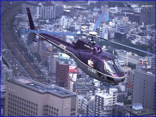 ヘリコプター遊覧飛行(小川航空)